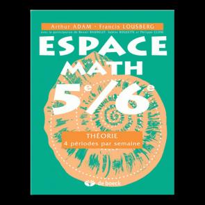 Espace Math 5e/6e - Théorie - 4 périodes/semaine