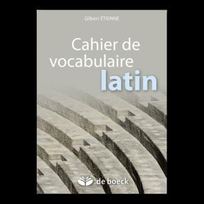 Cahier de vocabulaire latin