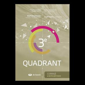 3e Quadrant (2 pér./sem.) - Corrigé