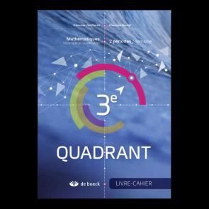 3e Quadrant (2 pér./sem.) - Livre-cahier