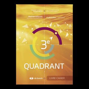 3e Quadrant (4 pér./sem.) - Livre-cahier