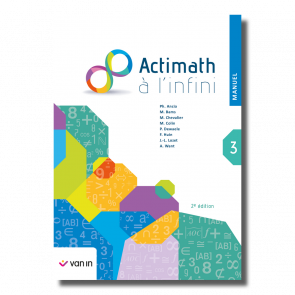 Actimath à l'infini 3 - manuel (2e édition)