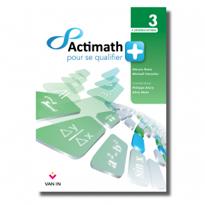 Actimath pour se qualifier + - 3 - Livre-cahier (4p/s)