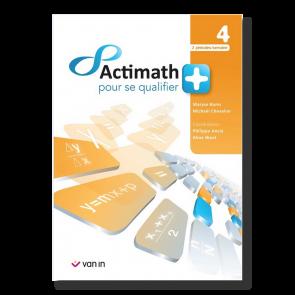 Actimath pour se qualifier + - 4 - Livre-cahier (2p/s)