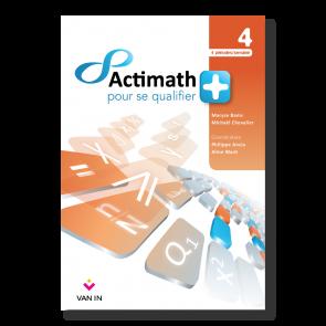 Actimath pour se qualifier + - 4 - Livre-cahier (4p/s)