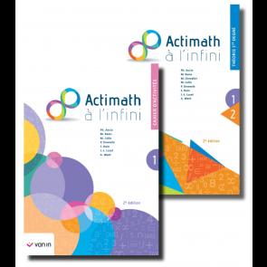 Actimath à l'infini 1 - pack 1re degré (2e édition)