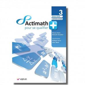 Actimath Pour Se Qualifier + 3 - 4 p/s Livre-Cahier - Officiel