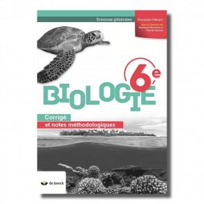Biologie 6e (Sciences générales) - corrigé (2018)