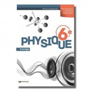 Physique 6e (Sciences générales) - corrigé (ed.2018)