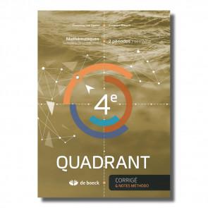 4e Quadrant (2 pér./sem.) - Corrigé