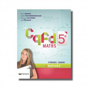 Cqfd Maths 5e (6 pér./sem.) - manuel (ed.2018)