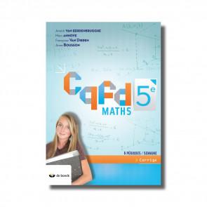 CQFD Maths 5e (6 ps) corrigé (ed. 2018)