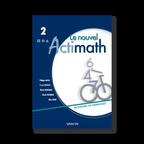 Nouvel Actimath 2 - Cahier d'activités/ex + cd-rom - Pack