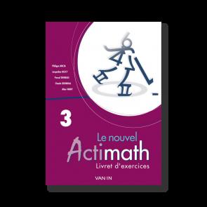 Nouvel Actimath 3 - Livret d'exercices + cd-rom - Pack