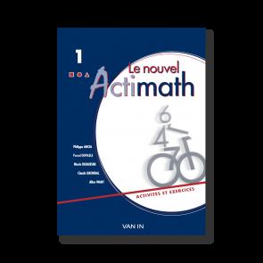 Nouvel Actimath 1 - Cahier d'activités/ex + cd-rom - Pack