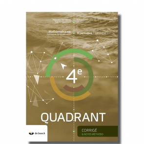 4e Quadrant (4 per./sem.) - corrigé