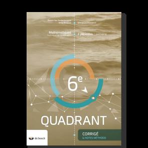 6e Quadrant (4 pér./sem.) - Corrigé